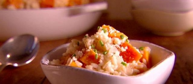 Butternut Squash and Vanilla Risotto Recipe