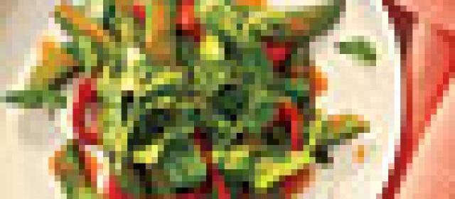 Vegetable Stir-Fry with Tropical Vinaigrette