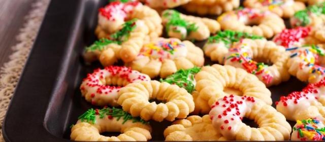Almond Spritz Press Cookies