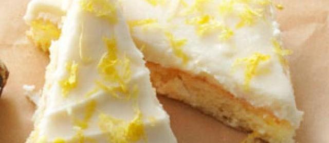 Lemon Angel Cake Bars