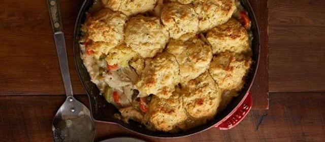 Turkey Biscuit Pie Recipe | Food Network Kitchen | Food Network