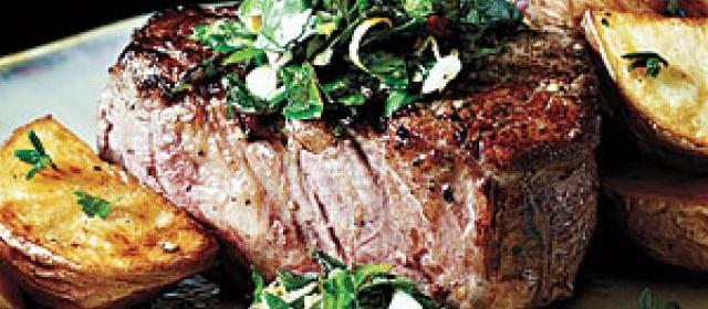 Peppercorn-Crusted Beef Tenderloin with Gremolata Recipe ...