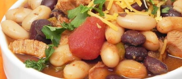 Slow Cooker Chicken Chili