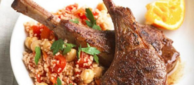 Spice-Rubbed Lamb Chops