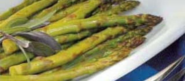 Roasted Asparagus with Balsamic Vinegar