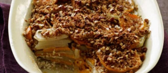 Sweet Potato Gratin Recipe  1