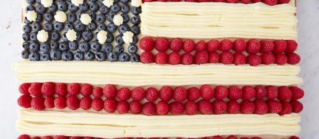 How to Make a Flag Cake