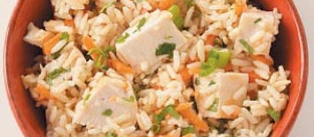 Brown Rice Chicken Salad