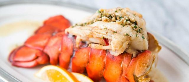 Broiled Lobster Tail with Brown Butter Sauce Recipe ...
