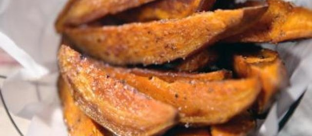Sweet Potato Fries Recipe | Jeff Mauro | Food Network