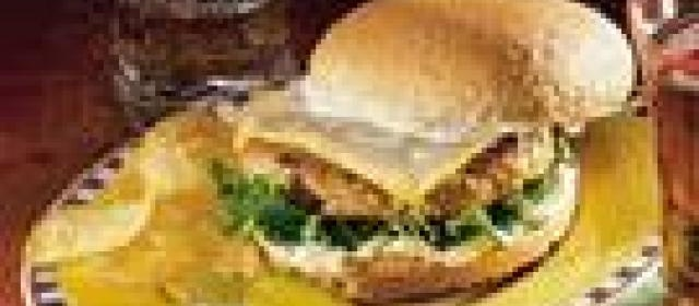 Dilled Turkey Burgers