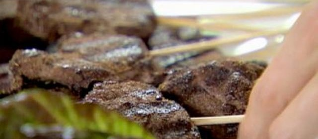 Spice Rubbed Lamb Pops