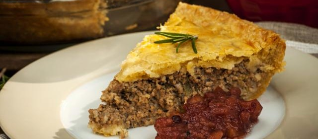 French Canadian Meat Pie (Reveillon Tourtiere)