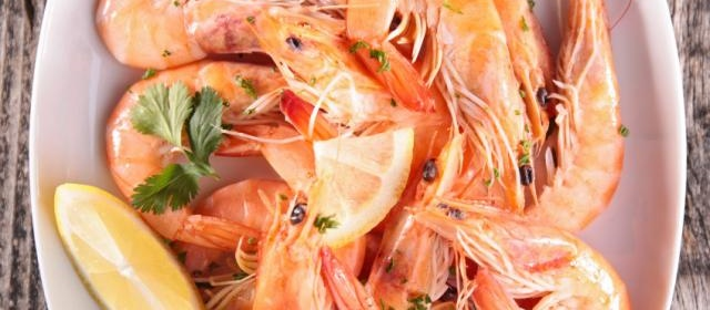 Ginger-Marinated Shrimp