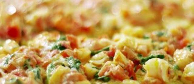Toasted Ciabatta with Shrimp, Tarragon and Arugula