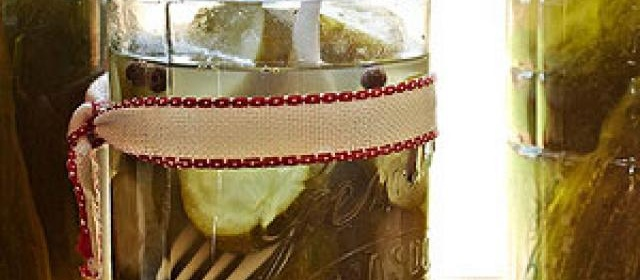 Grandma Yearwood's Sweet Iceberg Pickles by Trisha Yearwood