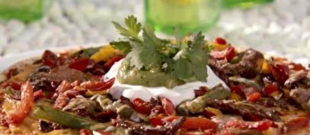 Beef Fajita Pie Recipe