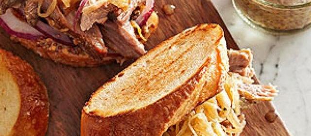 Sauerkraut and Pork Shoulder Roast
