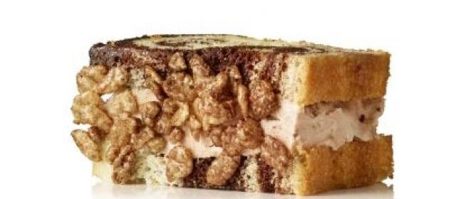 Crunchy Chocolate Malt Ice Cream Sandwiches