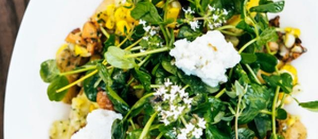 Potato Confit with Corn, Ricotta, and Chanterelles Recipe ...