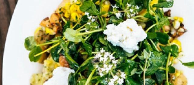 Potato Confit with Corn, Ricotta, and Chanterelles Recipe ...