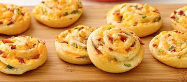 Bacon-Cheddar Pinwheels