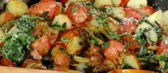 New Potatoes with Oregano (Patate Ariganate)