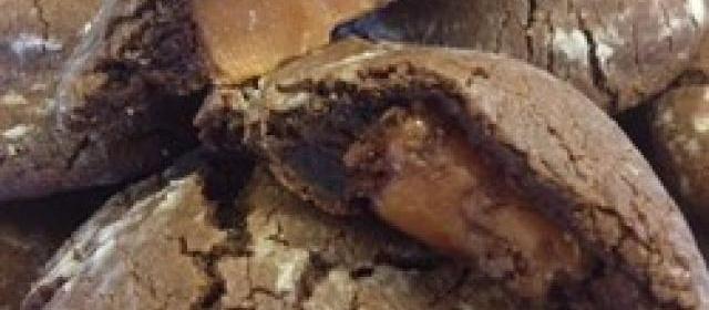 Caramel Chocolate Cookies Photos