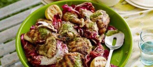 Grilled Chicken Cordon Bleu Recipe | Bobby Flay | Food Network