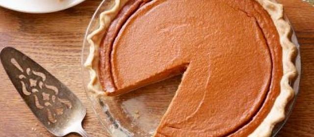 From Scratch Pumpkin Pie