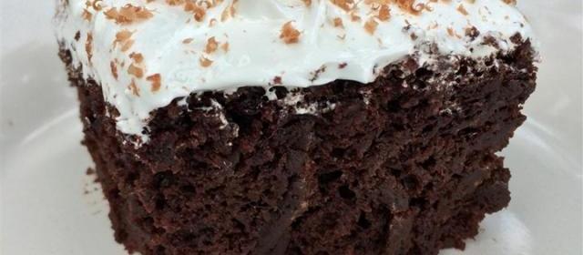 Salad Dressing Chocolate Cake