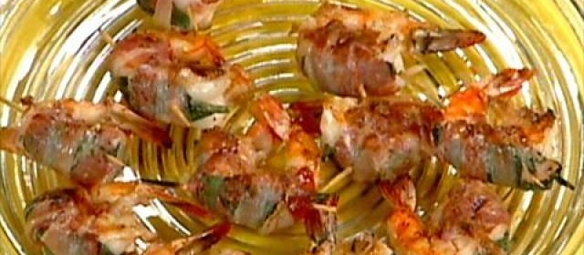 Elsa's Jumbo Shrimp with Sage and Pancetta Videos