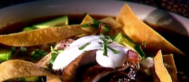 Grilled Chicken Tortilla Soup with Tequila Crema Videos