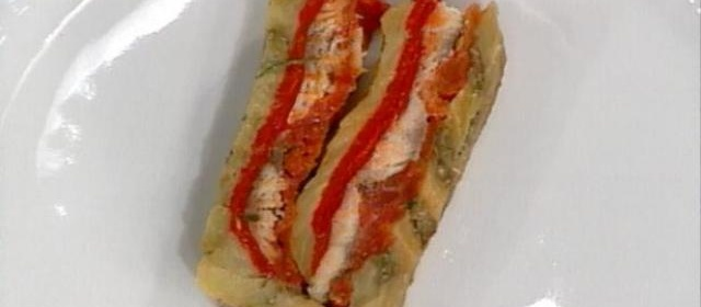 Daniel's Sardine and Red Pepper Terrine Recipe