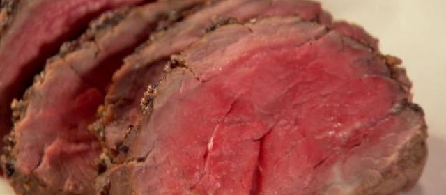 Balsamic Roasted Beef Recipe | Ina Garten | Food Network
