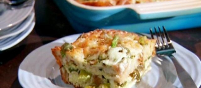 Spicy Strata Recipe | Aida Mollenkamp | Food Network