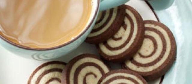 Chocolate-Nut Pinwheel Cookies