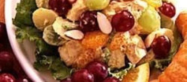 Curried Chicken Fruit Salad