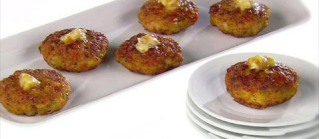 Mini Shrimp Cakes with Ginger Butter Videos