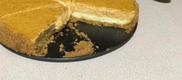 Double Layer Pumpkin Cheesecake Photos
