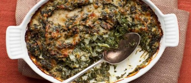Spinach Gratin Recipe | Ina Garten | Food Network