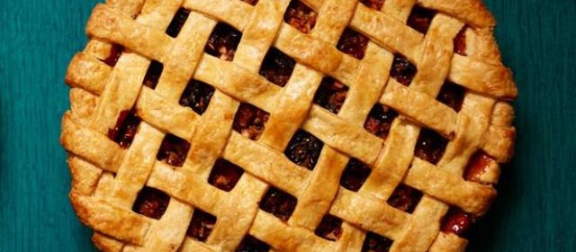 Apple and Dried Fruit Lattice Pie Recipe | Food Network Kitchen ...