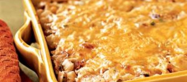 Hash Brown Casserole with Bacon, Onions, and Cheese Recipe ...