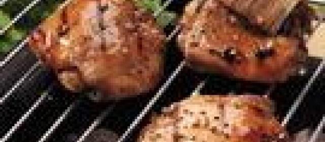 Honey-Glazed Grilled Chicken Thighs