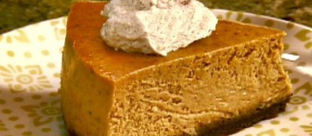 Gina's Pumpkin Cheesecake Recipe | /etc/sni-asset/food/people ...
