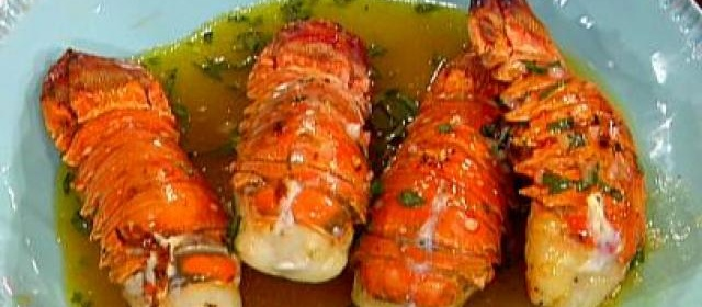 Grilled Lobster Tails with a Ruby Red Grapefruit and Tarragon ...