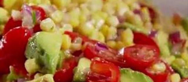 Corn and Avocado Salad
