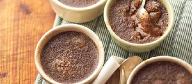 Chocolate-Ancho Creme Brulee