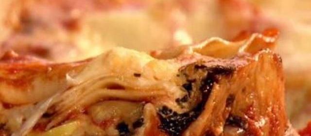 Veggie Lasagna Recipe | Sandra Lee | Food Network