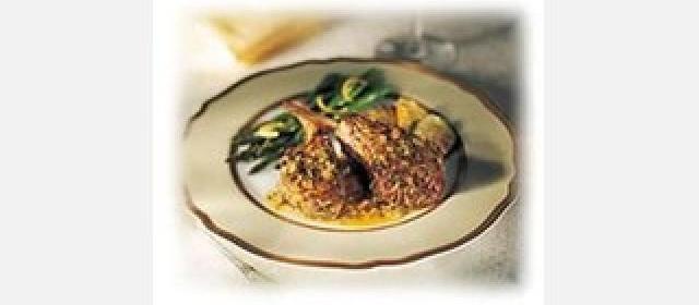 Rosemary Marinated Lamb Chops